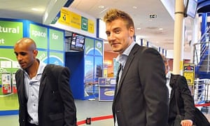 Denmark player Nicklas Bendtner