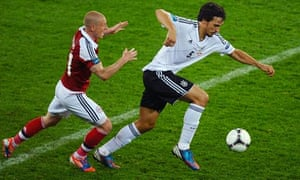 Mats Hummels of Germany, right