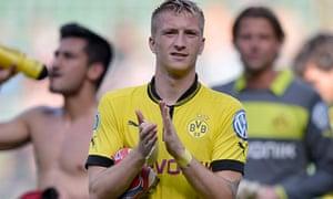 Dortmund's Marco Reus: a more-than-able replacement for Shinji Kagawa