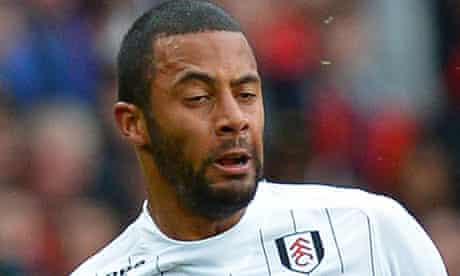 Fulham's Belgian striker Moussa Dembele