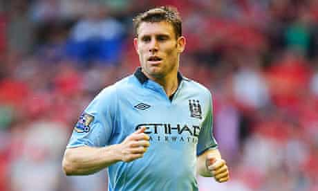 James Milner of Manchester City