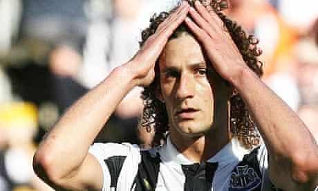 Newcastle captain Fabricio Coloccini is nursing a hamstring strain