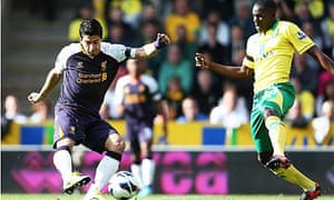 Luis Suarez of Liverpool