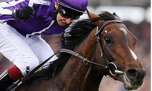 Camelot will attempt to lift the Triple Crown in the St Leger