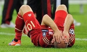 Bayern Munich's arjen robber