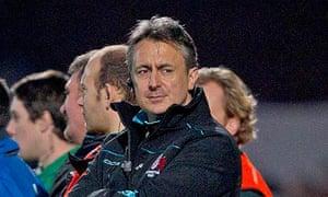 Gloucester's rugby director Nigel Davies