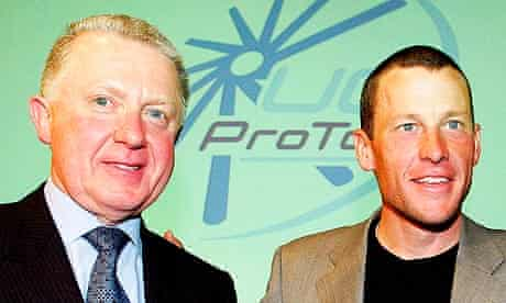 Hein Verbruggen and Lance Armstrong
