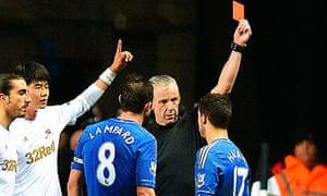 Chelsea's Belgium midfielder Eden Hazard