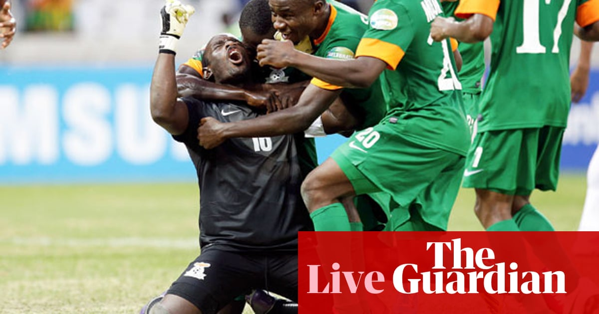 Burkina Faso v Zambia: Africa Cup of Nations – live! | Barry Glendenning