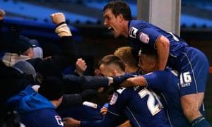 Oldham celebrate