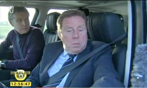 Harry Redknapp in action