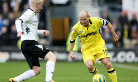 Derby County v Tranmere Rovers