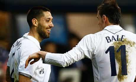Tottenham's clint Dempsey