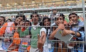Indian Grand Prix fans