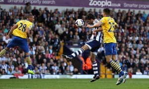 Claudio Yacob West Bromwich Albion