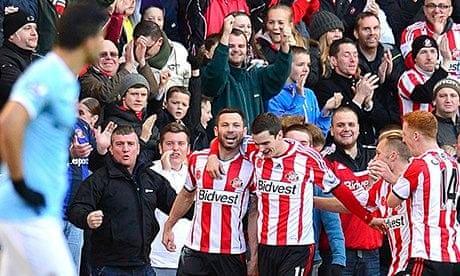 manchester city sunderland premier league összefoglaló