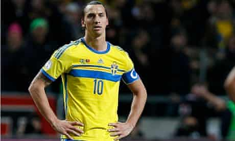Zlatan Ibrahimovic reflects after Sweden's World Cup play-off exit against Portugal