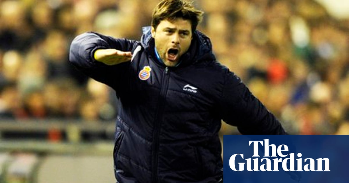 Mauricio Pochettino S Road From Murphy To Southampton Via Espanyol Southampton The Guardian