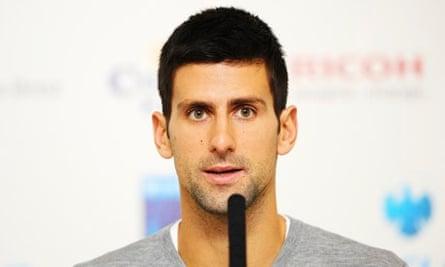 Roger Federer Moving Maybe Slower Says Novak Djokovic Ahead Of Clash Roger Federer The Guardian