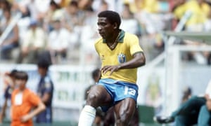 Brazil's Josimar during the 1986 World Cup in Mexico, where he scored two memorable goals