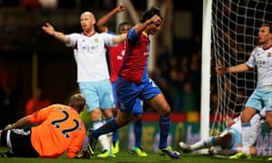 Marouane Chamakh of Crystal Palace