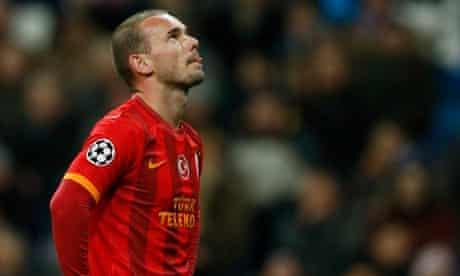 Wesley Sneijder, Galatasaray midfielder