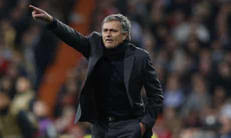 Real Madrid manager José Mourinho
