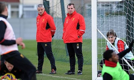 Liverpool's Brendan Rodgers