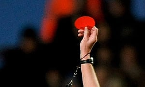 A Football League referee has been suspended
