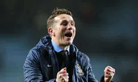 Bradford City's manager Phil Parkinson