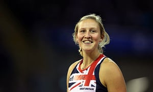 Britain's pole vaulter Holly Bleasdale