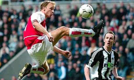 Arsenal's Dennis Bergkamp