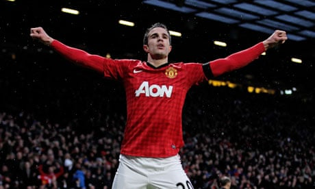 e6f315c7cd5 Robin van Persie hopes Manchester United title will ease his pain ...