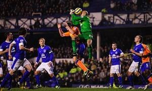 Tim Howard Everton