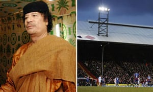 Colonel Gaddafi and Selhurst Park