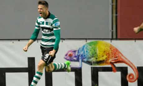 Sporting Lisbon's Ricky van Wolfswinkel