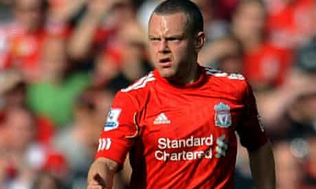 Jay Spearing of Liverpool