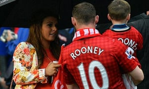 33c5da1e6 Manchester United s Wayne Rooney and his young family