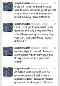 Tweets posted by Stephen Aziz
