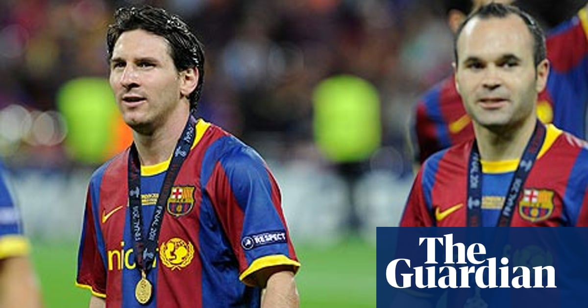 The Great European Cup Teams Barcelona 2009 2011 Sid Lowe Football The Guardian