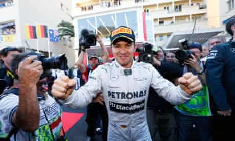 Nico Rosberg's victory at the Monaco Grand Prix was overshadowed by claims of illegal testing