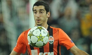 Henrikh Mkhitaryan has caught the attention of Europe's top clubs after shining for Shakhtar Donetsk