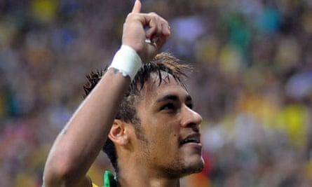 Neymar, Brazil striker
