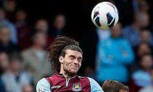 Andy Carroll West Ham United