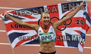 Jessica Ennis-Hill, heptathlete