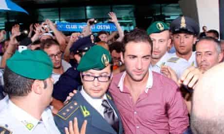 Gonzalo Higuaín at Napoli