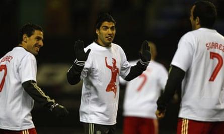 Liverpool's Luis Suárez