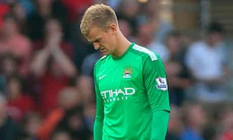 Joe Hart, Manchester City goalkeeper