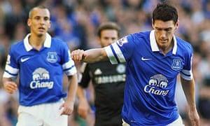 Gareth Barry of Everton