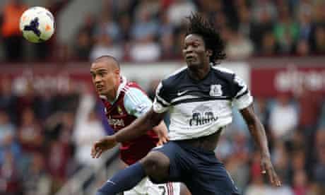 Soccer - Barclays Premier League - West Ham United v Everton - Upton Park